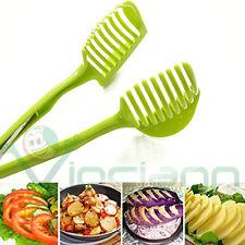 Pinza affetta verdura frutta taglia fetta pomodori agrumi protezione dita cucina