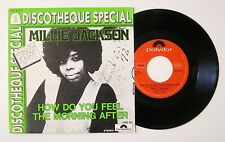 R & B Soul Millie Jackson How Do You Feel The Morning After 1974 BELGIAN PS 45