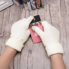 Smartphone Gloves Womens Girls Stretch Knit Gloves Mittens Winter Warm Gloves