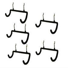 5 Pcs Pegboard Double Drill Holder Heavy Duty Hooks For Drill Power Tools Etc