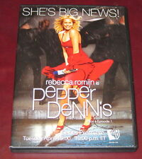 Rebecca Romijn: Pepper Dennis - Rare promo Dvd - 2 eps.