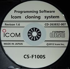 Icom CS-F100S Software for IC-F110S/IC-F111S/IC-F121S/IC-F210S/IC-F211S/F-221S