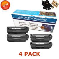 4PK C104 Toner For Canon 104 ImageClass MF4150 4270 4350 4370 4690 D420 D480 L90