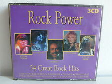 CD ALBUM Compil 3XCD Rock power 54 Great rock hits TEMP304
