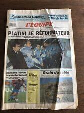 Journal l'Equipe - 3 Janvier 1990 - 44 eme année - n 13580
