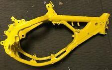 Used Main Frame Suzuki RM125 1999 Fresh Yellow Powder Coat RM 125 99 Pastrana