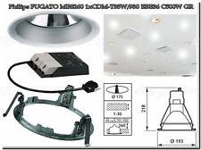 Philips FUGATO MBS260 1xCDM T35W/930 EBE 36 C500W Einbauleuchte W43/13 Grau