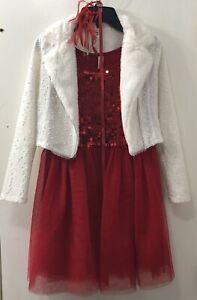 Christmas Dress- Beautees- Girls Size 10