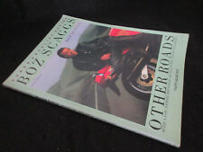 Boz Scaggs Other Roads Japan Vocal Chord Rhythm Score Song Book Jeff Porcaro