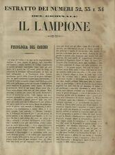 Il Lampione Quotidiano Satirico Collodi Estratto dei N° 32-33-34 26 Agosto 1848