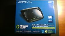 Cisco LINKSYS Wireless-G WRT54G2-V1 4-Port  Router