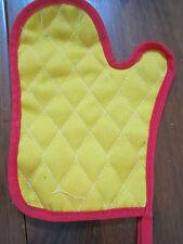 Fisher Price Fun Food Pretend Play Oven Mitt Baking Toy mit glove hot pad