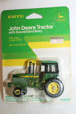 Ertl John Deere Tractor, #5509, New on Card,  1/64th Scale