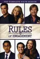 Rules Of Engagement: Season 6 - 2 DISC SET (2012, REGION 0 DVD New) DVD-R