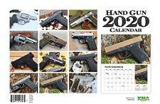 2020 HANDGUN WALL CALENDAR glock 9mm pistol gun nra