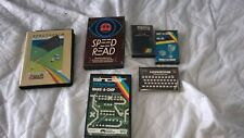 ZX Spectrum vintage utilities cassettes inc spectrosim job lot joblot