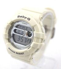 CASIO BABY-G BGD141-7C Digital Round Shiny Dial White Resin