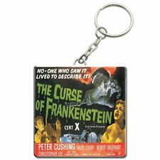 Official Hammer House of Horror Original Frankenstein Film Poster Keyring