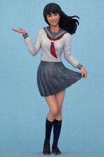 Resin Figures Garage kit 1/20 Beautiful school uniform girl 65mm Model Kit R2244