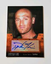 Topps Terminator Salvation Autograph Card Dylan Kenin