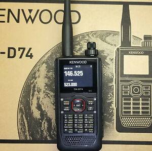 KENWOOD TH-D74 tri-band transceiver 144/220/430 Mhz