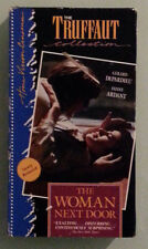 gerard depardieu  THE WOMAN NEXT DOOR fanny ardant VHS VIDEOTAPE