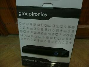 Grouptronics GTDVD-181 DVD Player with HDMI, USB and Scart (Only plays Region 2)