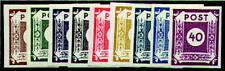 SBZ Nr. 42-50 postfrisch ** Ziffern 1945 9 Werte