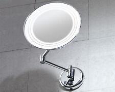 Specchio Ingranditore Gerard da Parete con Luce GEDY Bagno cod. 2116