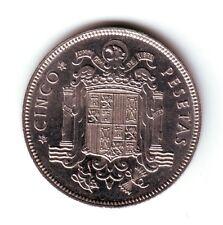 ESPAÑA: 5 Pesetas FRANCO 1949 *19* *49* conocido como el duro del cabezón