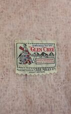 "VINTAGE GLEN CREE MOHAIR SHAWL CAPE 25"" X 72"" MADE IN SCOTLAND"