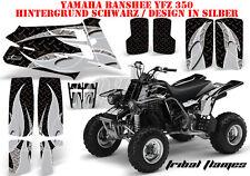 AMR Racing DECORO GRAPHIC KIT ATV Yamaha Banshee YFZ 350 TRIBAL Flames B