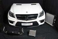 Mercedes X166 GL63 AMG V8 Kühler Front Paket Motorhaube Stoßstange Scheinwerfer
