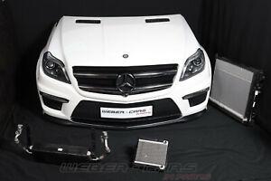 Mercedes X166 GL63 AMG V8 Cooling Fan Front Package Bonnet Bumper Headlight