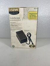 Hampton Bay 150W 12V Landscape Dusk-to-Dawn Lighting Transformer 585 841