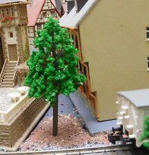 20 mittelgrüne Laubbäume, 65 mm hoch