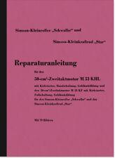 Simson Schwalbe Star M53 Reparaturanleitung Werkstatthandbuch Motor M 53 Roller