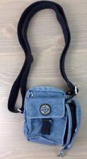 Kipling Camera Bag Nylon Film Holder Zipper Pockets Blue VTG