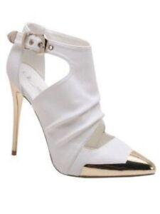 New Women Pointy To Ankle Strap Stiletto High Heel Pump
