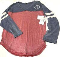 $50 TECHstyles Vintage Style Football Jersey Shirt NWT Sz XL Rocky Mountains CO