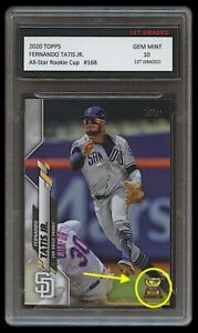 FERNANDO TATIS JR. TOPPS ALL-STAR ROOKIE CUP 1ST GRADED 10 BASEBALL CARD PADRES