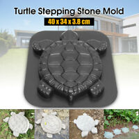 Turtle Paving Stepping Stone Mold Concrete Cement Mould ABS Tortoise Garden Path