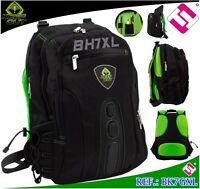 MOCHILA GAMING KEEP OUT 17 PULGADAS NYLON NEGRA VERDE PORTATIL TABLET EBOOK