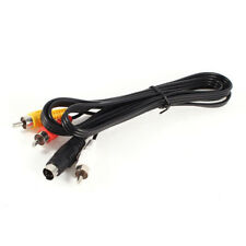 1.5M 4.9ft 3 RCA Male to 4 Pin S-Video Male TV PC Conversion Cable C6J8