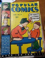 Popular Comics #17 (June 1936, Dell) Dick Tracy!