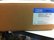 Original IBM 28P2494  Toner Infoprint 1120 1125  schwarz 28P2493 12A6735  A-Ware