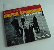 """Gebrauchte Lieder von Maren Kroymann (2013) mit Autogramm """"für Dagmar..."""""""