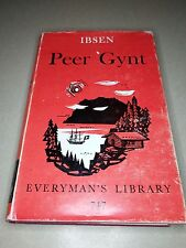 PEER GYNT by Henrik Ibsen - Everyman's Library #747 Published Sent Dutton - Play