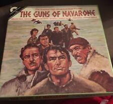 "Super 8 Cine Film""The Guns Of Navarone""400ft Reel Colour/sound Niven,Peck,Quinn."