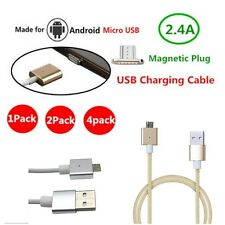 2.4A QUICK CHARGE MICRO USB CHARGING CABLE DATA SYNC CORD ADAPTER FR SAMSUNG HTC